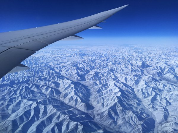 Between Alaska and North Pôle -67 celcius at 32000 feet thumbnail