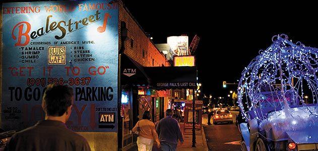 Beale Street Memphis Tennessee