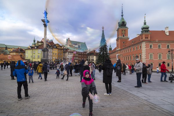 Old Town, Warsaw, Poland. thumbnail