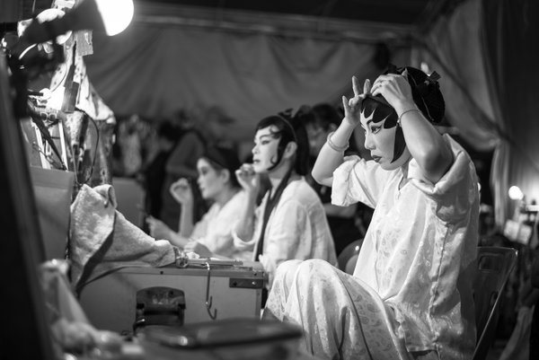 Backstage of Chinese Opera thumbnail