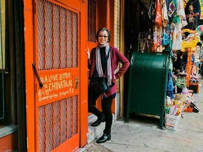 """Cookbook author Grace Young set out to raise awareness of the struggle that Chinatown's business owners were facing, recording her """"Coronavirus Stories""""—short on-the-spot video interviews with members of the community."""
