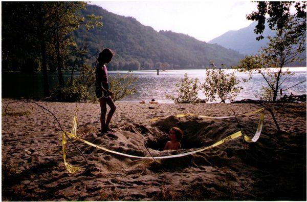 digging at dusk thumbnail