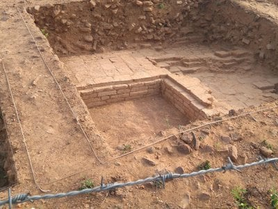 Archaeologists have been excavating the site since 2017.