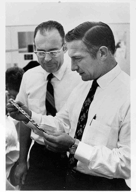Bob Noyce and Gordon Moore