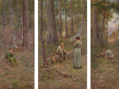 McCubbin's Found spent 115 years hidden beneath the surface of The Pioneer, a 1904 painting widely heralded as one of Australia's greatest masterpieces.