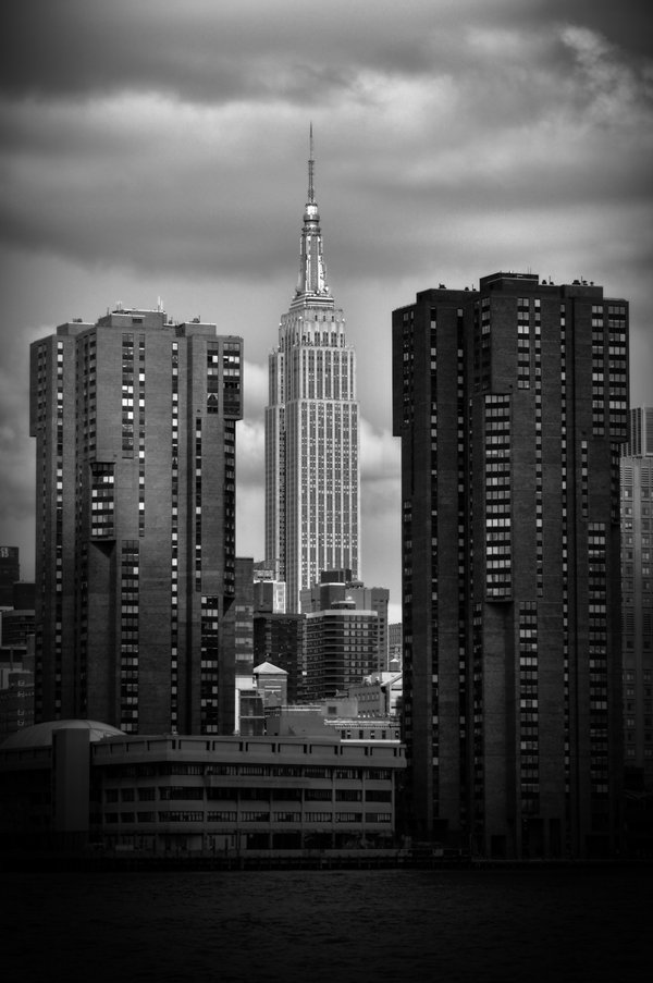 The Empire State building. thumbnail