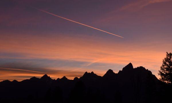Tetons at Sunset thumbnail