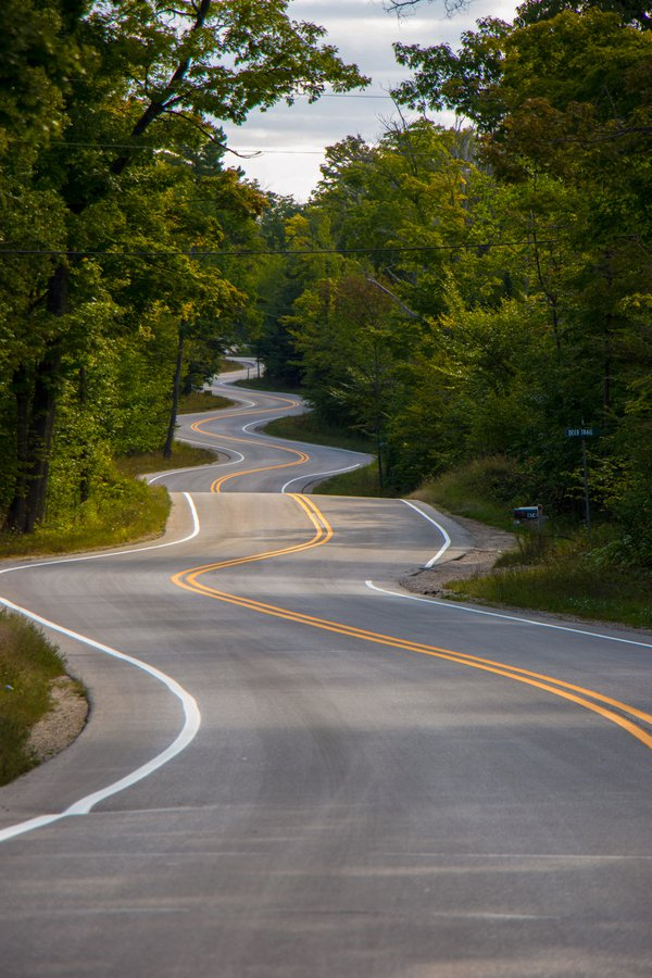 Curviest road in Wisconsin thumbnail