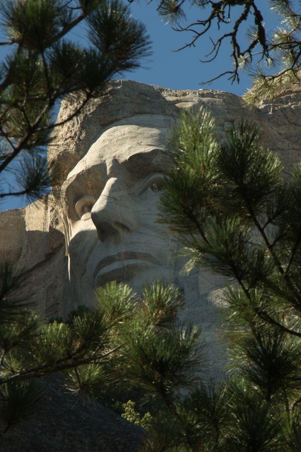 Mt. Rushmore. Lincoln thumbnail