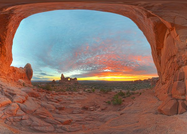 Windows Arch Sunset thumbnail