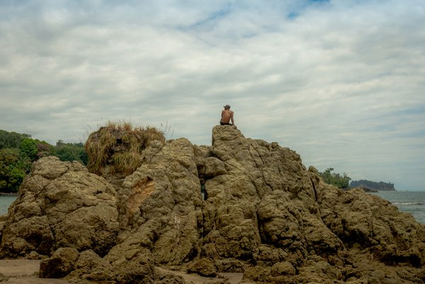 Rocky Profile at Manuel Antonio National Park thumbnail