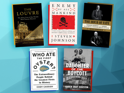 This week's selections include Enemy of All Mankind, Who Ate the First Oyster? and Daughter of the Boycott.