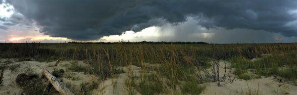 Storm gathering, Matagorda Beach thumbnail