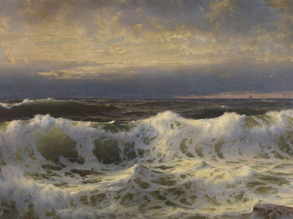 William Trost Richards, Along the Shore, 1903