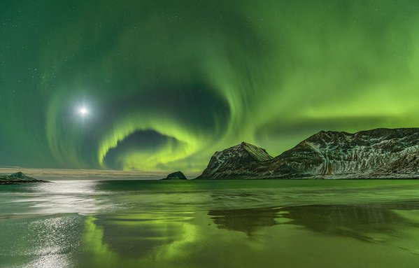 Northern lights in Norway thumbnail