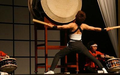 Japanese taiko drumming, one of a panoply of performances from cultures around the world at this weekend's Multicultural Festival.
