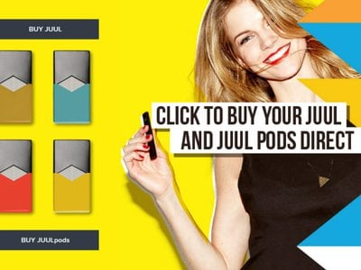 This advertisement from San Francisco-based electronic cigarette company JUUL calls back the tobacco advertisements from the mid-20th century.