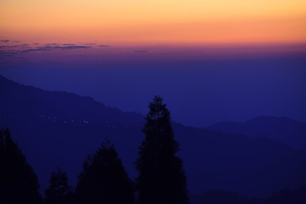 A scenic sunrise at shree antu,nepal thumbnail