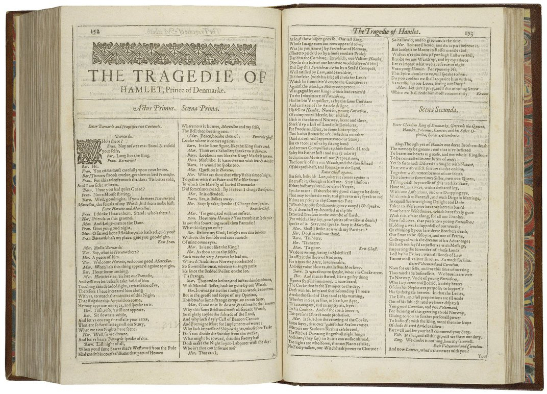 Shakespeare's First Folio Is the Most Expensive Work of Literature Ever Auctioned