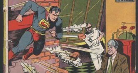 A Superman comic book