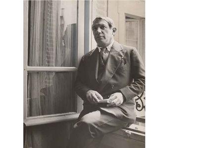 Pablo Picasso by Albert Eugene Gallatin, 1934