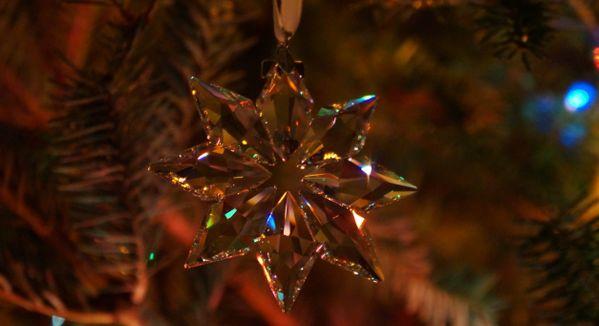 Christmas ornament on macro thumbnail