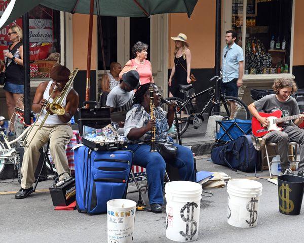 New Orleans Street Corner Jazz  thumbnail