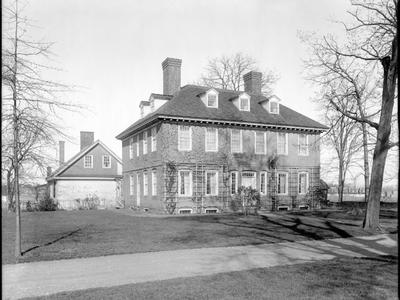 The Stenton House, circa 1865 to 1914