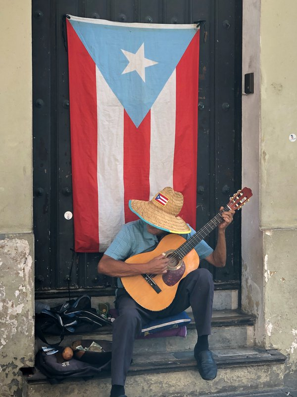 Singing on the streets of Old San Juan, Puerto Rico thumbnail