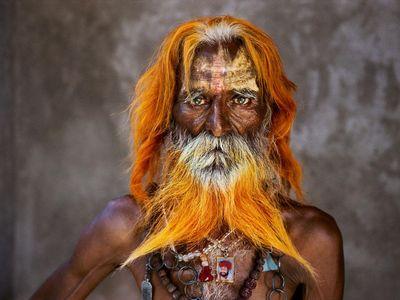 A Rabari tribal elder, Rajasthan, 2010.