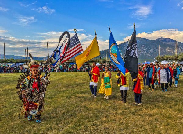 Taos Pueblo Powwow Honor Guard thumbnail