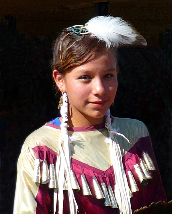 Young Lakota Jingle Dress Dancer thumbnail