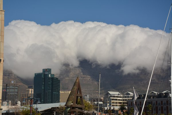 Clouds over Table Mountain thumbnail