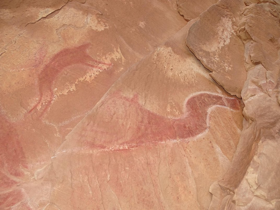 Utah's Winged Monster Rock Painting Isn't A Monster at All