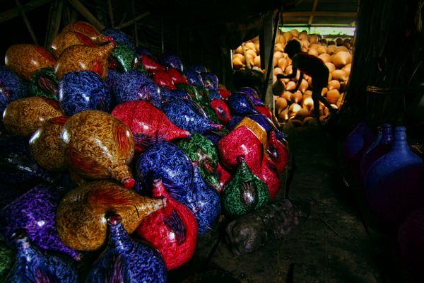 Colorful pottery banks: Bangladesh thumbnail