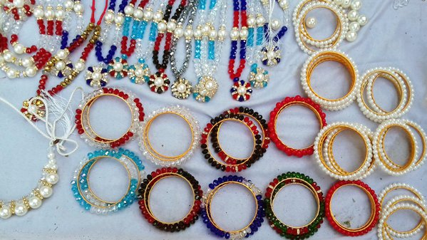 Ornaments in a street shop thumbnail