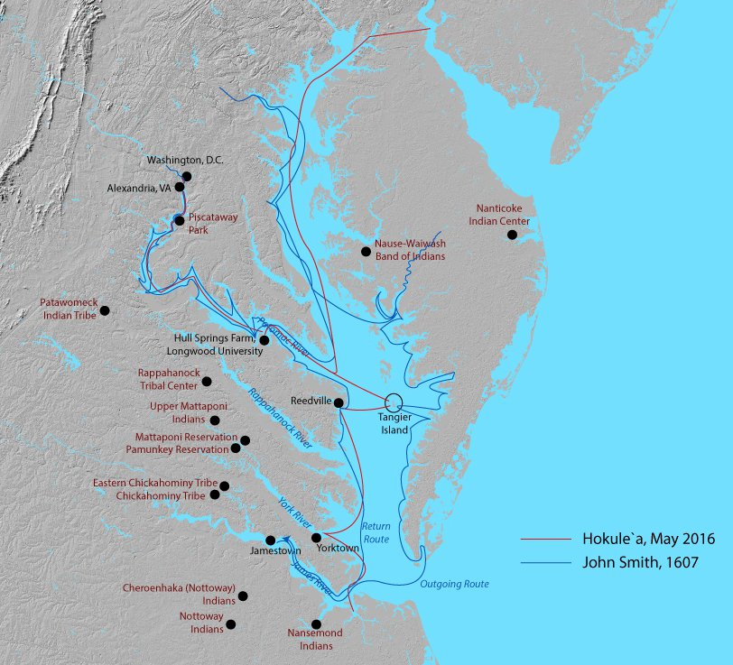 A Smithsonian Scholar Revisits the Neglected History of the Chesapeake Bay's Native Tribes