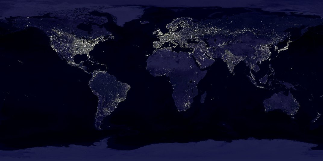 How Cities and Lights Drive the Evolution of Life
