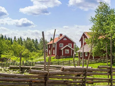 The color, known specifically as Falu red, has been a consistent symbol of pastoral life in Sweden.
