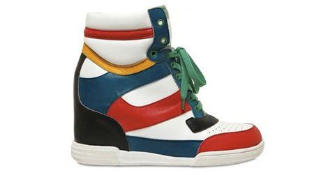 Marc Jacobs high-top wedge sneaker