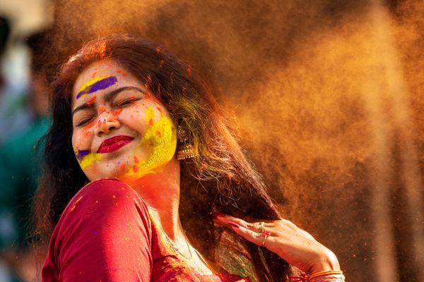 Overwhelmed with joy of Holi festival thumbnail