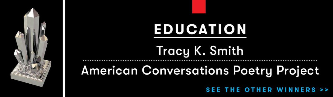Tracy K. Smith, America's Poet Laureate, Travels the Country to Ignite Our Imaginations