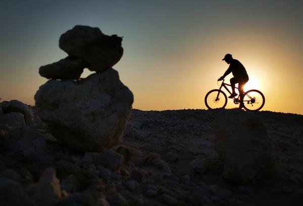 Biking during pandemic thumbnail