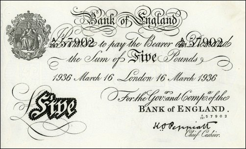The Nazis Planned to Bomb Britain With Forged Bank Notes