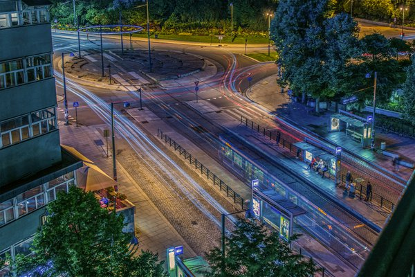 Nationaltheatret Tram Stop in Oslo thumbnail