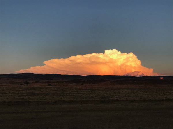 Cloud Formation in Laramie, Wyoming thumbnail