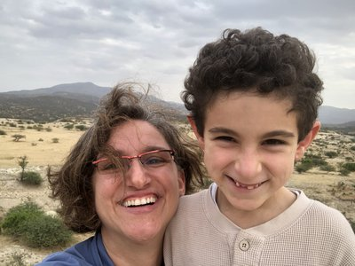 Last summer, I brought my son, Toby, with me on a field work trip to Kenya for the first time. It wasn't easy but I'm glad I did it and would definitely do it again. (Briana Pobiner, Smithsonian Institution)
