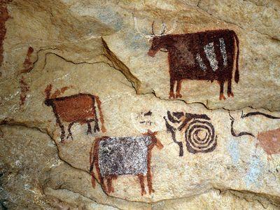 Rock art from the Ennedi Plateau