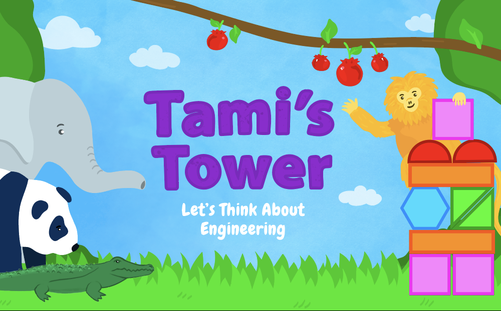 Tami's Tower is a new game from the Smithsonian Science Education Center