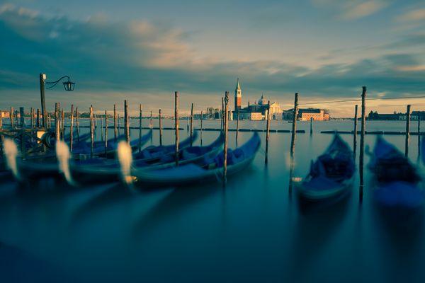 Evening Light St Giorgio Maggiore Venice thumbnail
